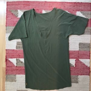 Lucy Dresses - Lucy, travel dress, size small, olive green